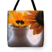 Pair Of Sunflowers Tote Bag