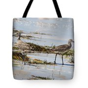 Pair Of Willets Tote Bag