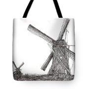 Pair Of Windmills 2016 Tote Bag