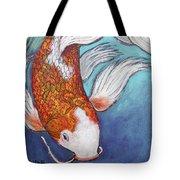 Paisley Koi Tote Bag