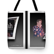 Pajama Night - Gently Cross Your Eyes And Focus On The Middle Image Tote Bag by Brian Wallace