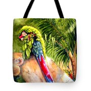 Pajaro Tote Bag by Karen Stark