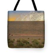 Pakefield Beach Sunset Tote Bag