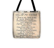 Pal Of My Heart Tote Bag
