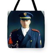 Palace Guard, Prague Tote Bag
