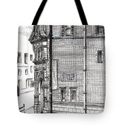 Palace Hotel Oxford Street Manchester Tote Bag