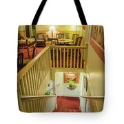 Palace Hotel Staircase Tote Bag