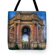 Palace Of Fine Arts With Atmospherics  Tote Bag