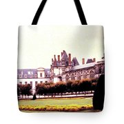Palace Of Fontainebleau 1955 Tote Bag