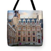 Palace Of Gruuthuse In Brugge Tote Bag