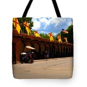 Palace Of The Governors Tote Bag