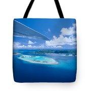 Palau Aerial Tote Bag
