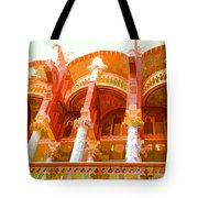 Palau De La Musica Catalana Window Tote Bag