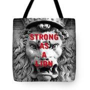 Palazzo Pitti Firenze Lion Tote Bag