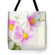 Pale Pink Anemone Tote Bag