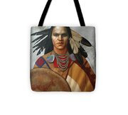 Pale Rider By K Henderson Tote Bag