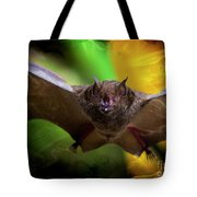 Pale Spear-nosed Bat In The Amazon Jungle Tote Bag