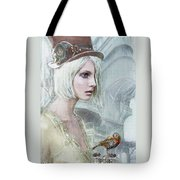 Pale Steampunk Tote Bag