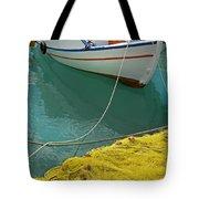 Paleohora Fishing Boat Tote Bag