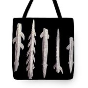 Paleolithic Harpoons Tote Bag