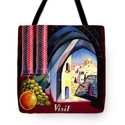 Palestine Travel Poster Tote Bag