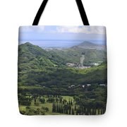 Pali Across Tote Bag