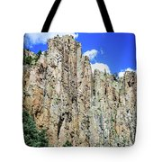 Palisades - Cimarron Canyon State Park - New Mexico Tote Bag
