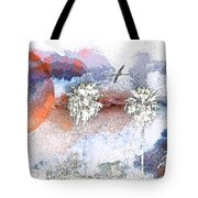 Palm Abstract Hollywood 2 Tote Bag