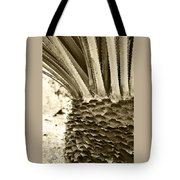 Palm Abstraction Tote Bag
