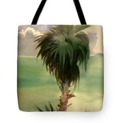Palm At Horseshoe Cove Tote Bag