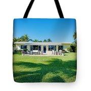 Palm Back Yard Tote Bag