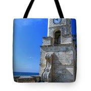 Palm Beach Clock Tower  Tote Bag