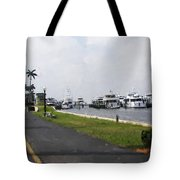 Palm Beach Marina Tote Bag