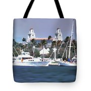 Palm Beach Middel Bridge Tote Bag