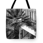 Palm Chevron Palm Springs Tote Bag