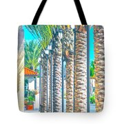 Palm Columns Tote Bag