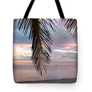 Palm Courtain II Tote Bag