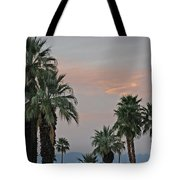 Palm Desert Sunset  Tote Bag