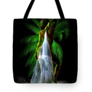 Palm Falls Tote Bag