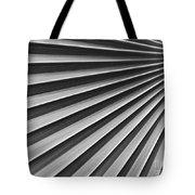 Palm Fan Pattern Tote Bag