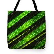 Palm Frond Abstract Tote Bag