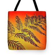 Palm Frond In The Summer Heat Tote Bag