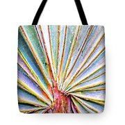 Palm Frond Lines Tote Bag
