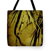 Palm Fronds Are Green Tote Bag