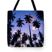 Palm Grove Tote Bag