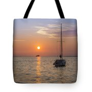 Palm Harbor Has The Best Sunsets Tote Bag