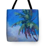 Palm In Evening Light Tote Bag