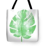 Palm Leaf- Art By Linda Woods Tote Bag