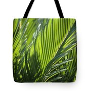 Palm Leaf Tote Bag