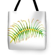 Palm Leaf Watercolor Tote Bag